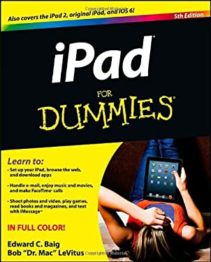 Ipad for Dummies 9781118498231