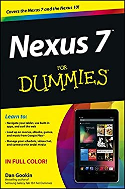 Nexus 7 for Dummies (Google Tablet) 9781118508732