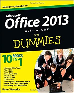 Office 2013 All-in-One For Dummies 9781118516362