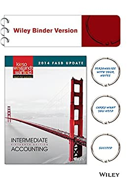 2014 FASB Update Intermediate Accounting 15e Binder Ready Version + WileyPLUS Registration Card