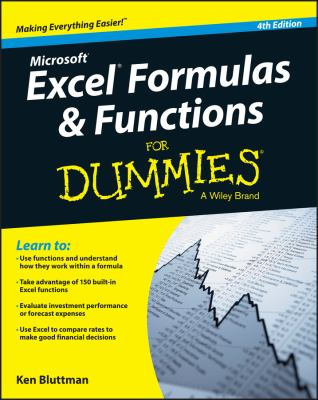 Excel Formulas & Functions For Dummies