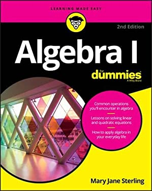 Algebra I For Dummies (For Dummies (Lifestyle))