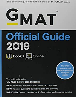 GMAT Official Guide 2019: Book + Online (Official Guide for GMAT Review)
