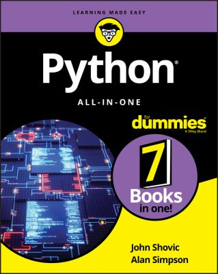 Python All-in-One For Dummies (For Dummies (Computer/Tech))