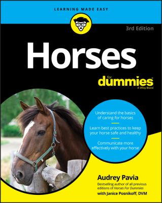 Horses For Dummies (For Dummies (Pets))