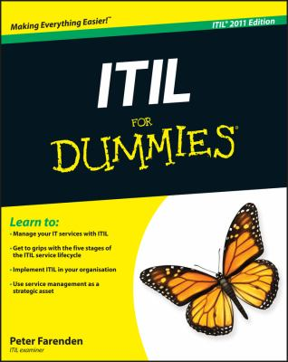 ITIL for Dummies 9781119950134