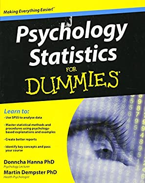 Psychology Statistics for Dummies 9781119952879