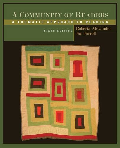 A Community of Readers: A Thematic Approach to Reading 9781111834579
