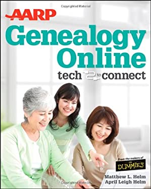 AARP Genealogy Online: Tech to Connect 9781118244050