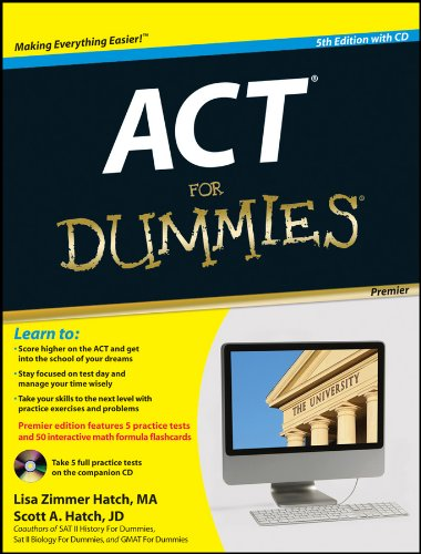 ACT for Dummies [With CDROM] 9781118012604