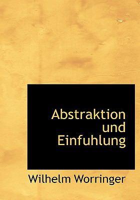 Abstraktion Und Einfuhlung 9781117415796