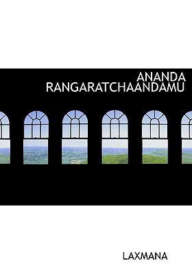 Ananda Rangaratchaandamu 9781117022185