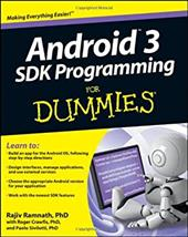 Android 3 SDK Programming for Dummies 11341713