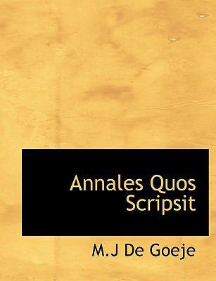 Annales Quos Scripsit 9781116433104