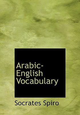 Arabic-English Vocabulary 9781116553123