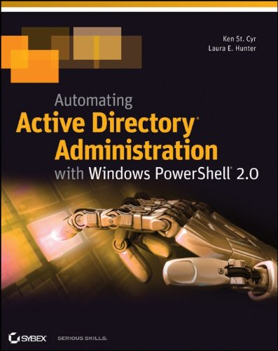 Automating Active Directory Administration with Windows Powershell 2.0 9781118027318