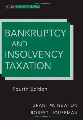 Bankruptcy and Insolvency Taxation 9781118000779