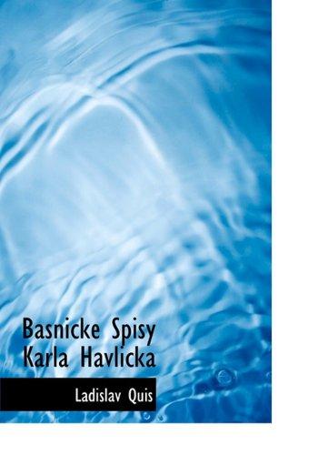 Basnicke Spisy Karla Havlicka 9781117968087