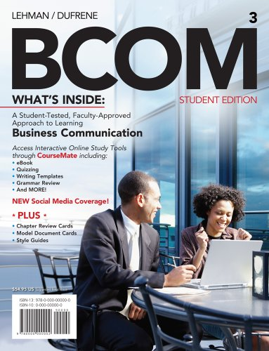 Bcom (with Printed Access Card) 9781111527778
