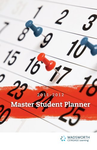 Becoming a Master Student Planner 2011-2012 9781111351717