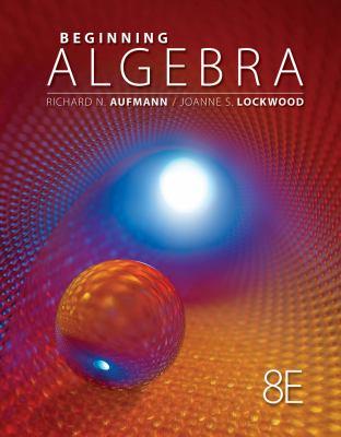 Beginning Algebra 9781111578701