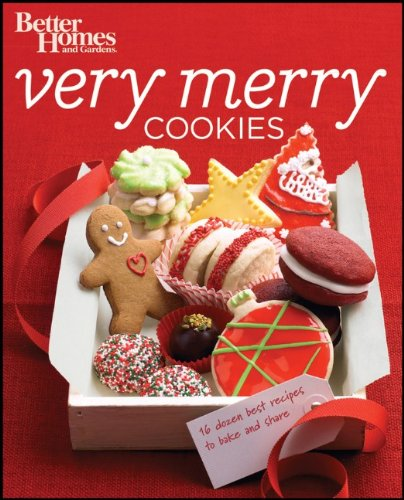 Better Homes & Gardens Very Merry Cookies 9781118016039