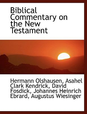 Biblical Commentary on the New Testament 9781116505801