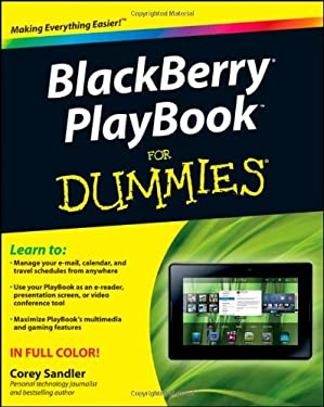 Blackberry Playbook for Dummies 9781118016985