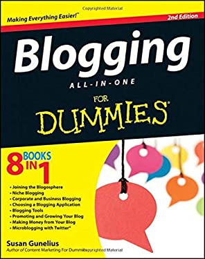 Blogging All-In-One for Dummies 9781118299449