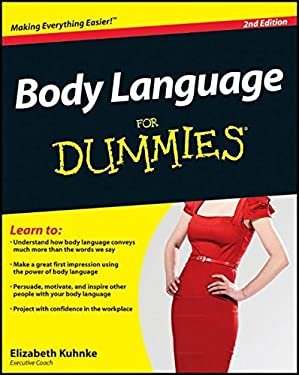 Body Language for Dummies 9781119953517