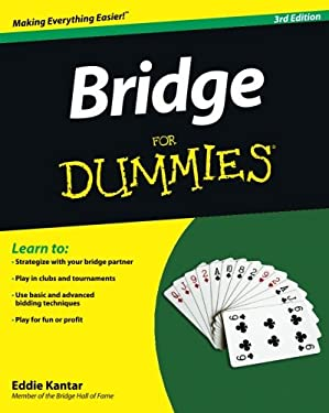 Bridge for Dummies 9781118205747