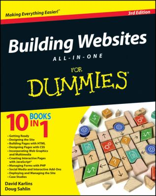 Building Websites All-In-One for Dummies 9781118270035