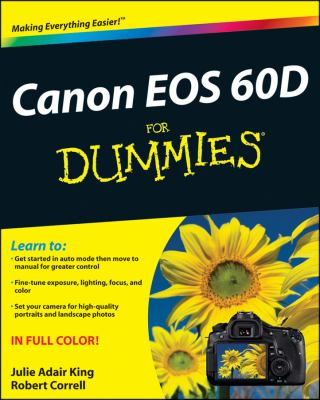 Canon EOS 60D for Dummies 9781118004890
