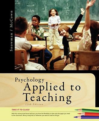 Psychology Applied to Teaching 9781111356125