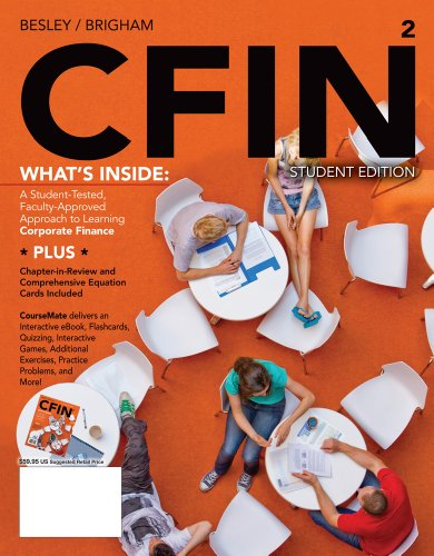 Cfin2 (with Finance Coursemate with eBook Printed Access Card) 9781111533731