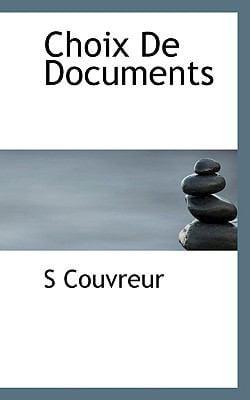 Choix de Documents 9781117360775