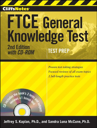 CliffsNotes FTCE General Knowledge Test [With CDROM] 9781118018040