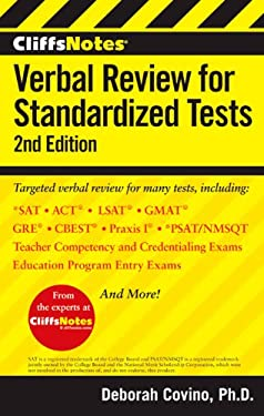 Cliffsnotes Verbal Review for Standardized Tests 9781118334256