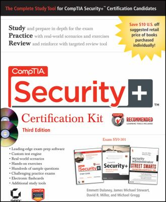 CompTIA Security+ Certification Kit: Exam SY0-301 [With CDROM] 9781118061152