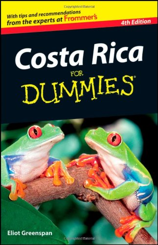 Costa Rica for Dummies 9781118086087