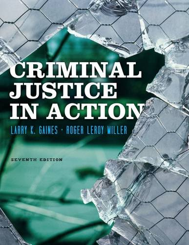 Criminal Justice in Action 9781111835576