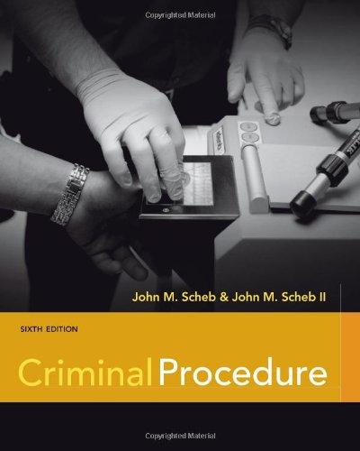 Criminal Procedure 9781111346973