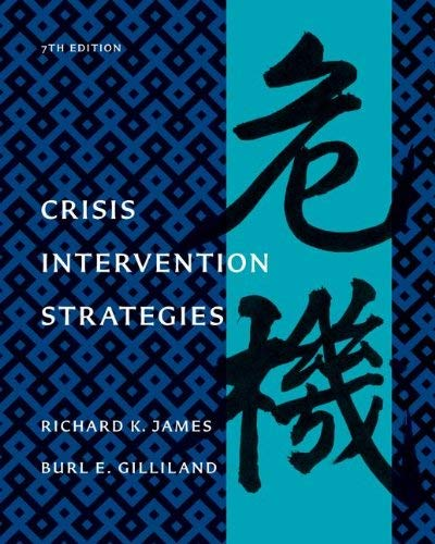 Crisis Intervention Strategies 9781111186777