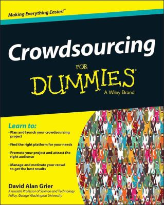 Crowdsourcing for Dummies 9781119940401