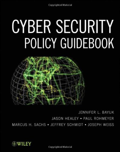 Cyber Security Policy Guidebook 9781118027806
