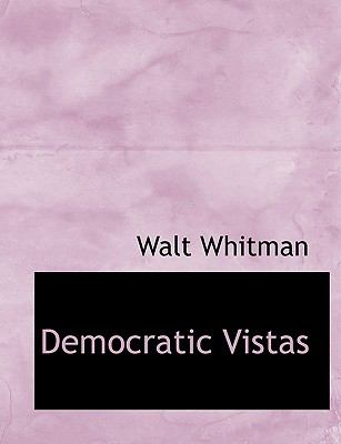 Democratic Vistas 9781116940169