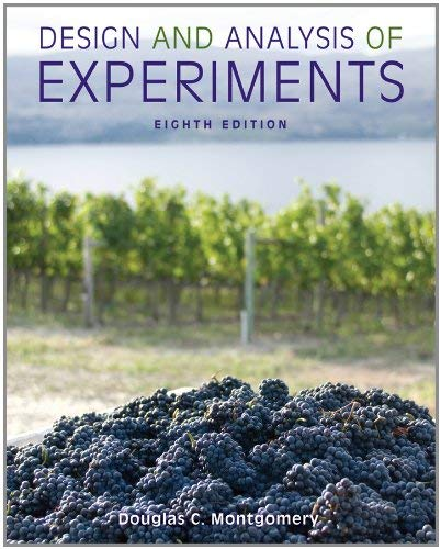 Design and Analysis of Experiments 9781118146927