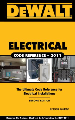 Dewalt Electrical Code Reference 9781111545482