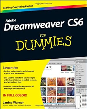 Dreamweaver CS6 for Dummies 9781118212332
