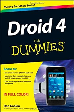 Droid 4 for Dummies 9781118336748